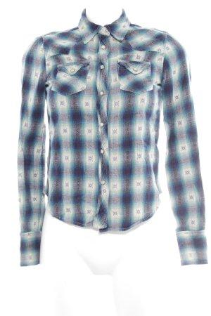 Denim & Supply Ralph Lauren Hemd-Bluse dunkelblau-waldgrün Ethnomuster