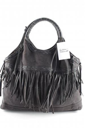 Denim & Supply Ralph Lauren Bolso barrel negro look Street-Style