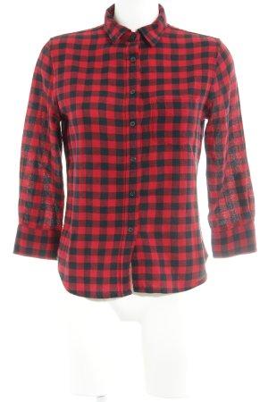 Denim & Supply Ralph Lauren Chemise de bûcheron rouge-noir motif à carreaux