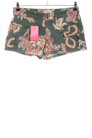 Denim & Supply Ralph Lauren Hot Pants Allover-Druck Casual-Look