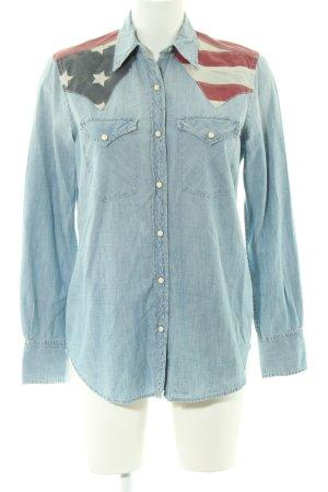 Denim & Supply Ralph Lauren Chemise en jean bleu style décontracté