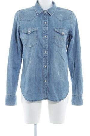Denim & Supply Ralph Lauren Spijkershirt azuur country stijl