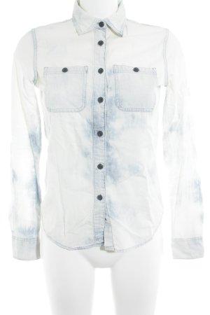 Denim & Supply Ralph Lauren Denim Shirt natural white-slate-gray acid wash