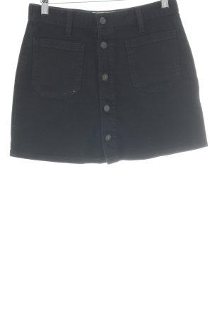 Denim & Supply Ralph Lauren Jeansrock schwarz Jeans-Optik