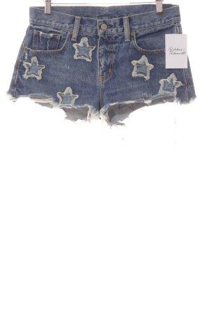Denim & Supply Ralph Lauren Pantalón corto de tela vaquera azul look casual