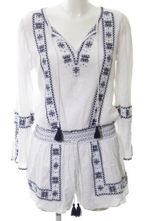 Denim & Supply Ralph Lauren Tuta blu-bianco stile casual