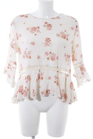 Denim & Supply Ralph Lauren Langarm-Bluse Blumenmuster Boho-Look