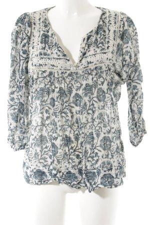 Denim & Supply Ralph Lauren Langarm-Bluse florales Muster Boho-Look