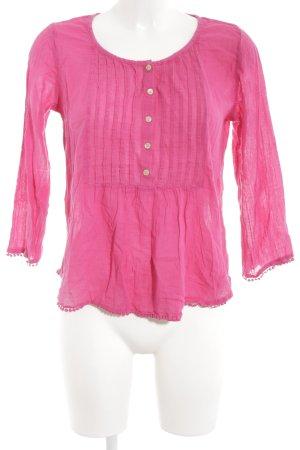 Denim & Supply Ralph Lauren Langarm-Bluse pink Casual-Look