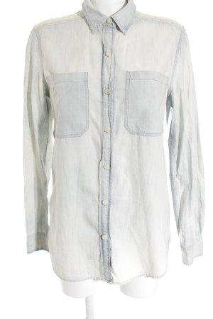 Denim & Supply Ralph Lauren Chemise à manches longues blanc cassé-bleu azur