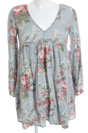 Denim & Supply Ralph Lauren Langarmkleid florales Muster Casual-Look