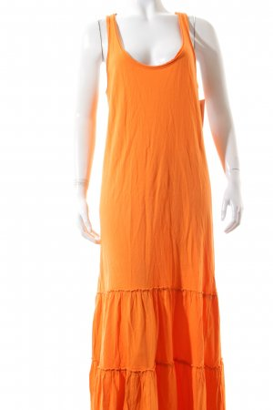 Denim & Supply Ralph Lauren Maxikleid orange Beach-Look
