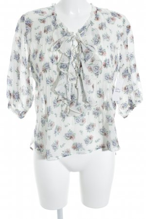 Denim & Supply Ralph Lauren Rüschen-Bluse Blumenmuster