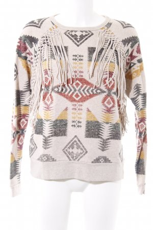 Denim & Supply Ralph Lauren Jersey de cuello redondo estampado azteca look Boho