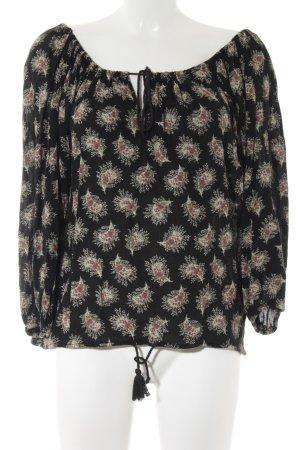 Denim & Supply Ralph Lauren Schlupf-Bluse florales Muster Boho-Look