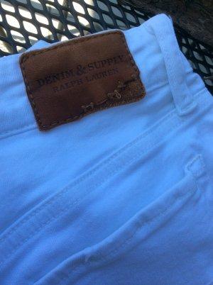Lauren Jeans Co. Ralph Lauren Jeans a 7/8 bianco Cotone