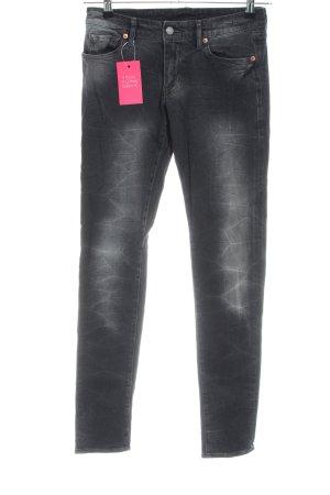 Denim & Supply Ralph Lauren Skinny Jeans hellgrau Casual-Look