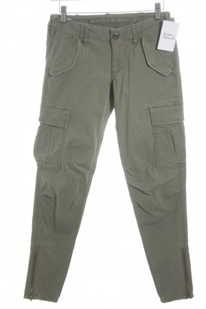 Denim & Supply Ralph Lauren Skinny Jeans grüngrau Military-Look