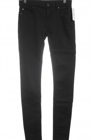 Denim & Supply Ralph Lauren Skinny Jeans schwarz Street-Fashion-Look
