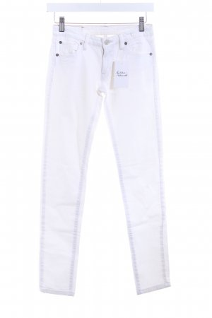 Denim & Supply Ralph Lauren Skinny Jeans weiß Casual-Look