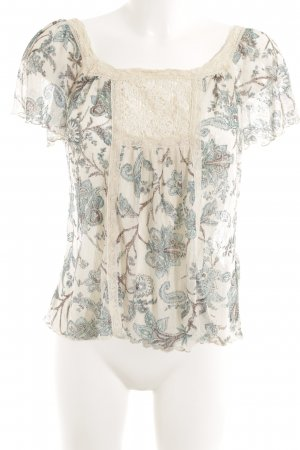 Denim & Supply Ralph Lauren Spitzenbluse florales Muster Casual-Look