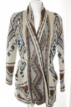 Denim & Supply Ralph Lauren Cardigan in maglia motivo etnico stile casual
