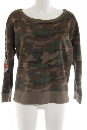 Denim & Supply Ralph Lauren Sweatshirt Camouflagemuster Casual-Look