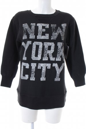 Denim & Supply Ralph Lauren Sweatshirt schwarz Casual-Look