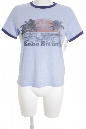 Denim & Supply Ralph Lauren T-Shirt dunkelblau-himmelblau Casual-Look