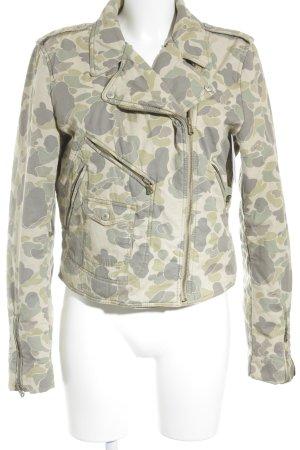 Denim & Supply Ralph Lauren Übergangsjacke abstraktes Muster Casual-Look