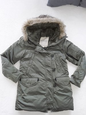 denim&supply ralph lauren winterjacke khaki gr.s