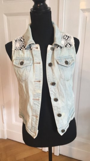 Denim Co. Gilet en jean multicolore