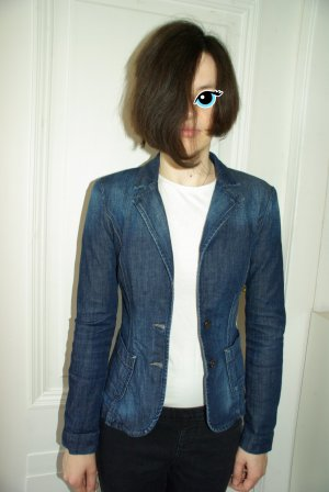 Edc Esprit Denim Blazer steel blue