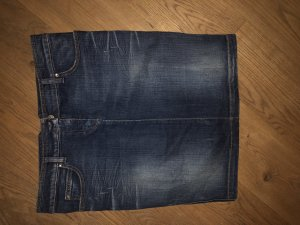 Armani Denim Skirt dark blue