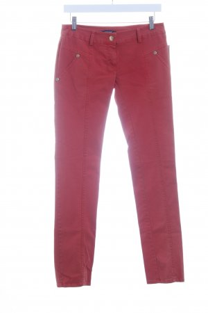 Denny Rose Slim Jeans rot Casual-Look