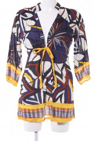 Dept A Line Dress abstract pattern '60s style