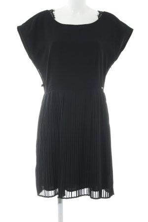 Dept A-Linien Kleid schwarz klassischer Stil