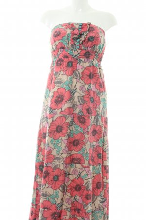Dept Bandeaukleid Blumenmuster Beach-Look