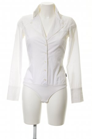Dept Bodysuit Blouse white simple style