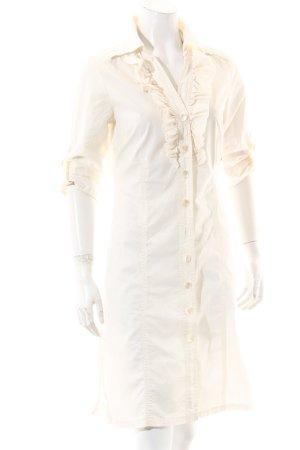 Dept Blusenkleid weiß Casual-Look