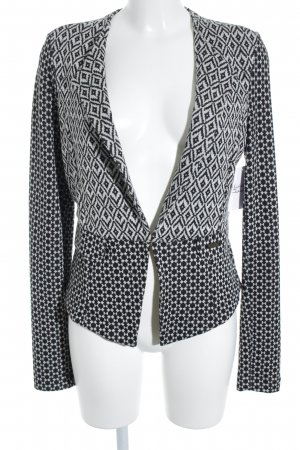 Dept Cardigan schwarz-weiß Mustermix extravaganter Stil