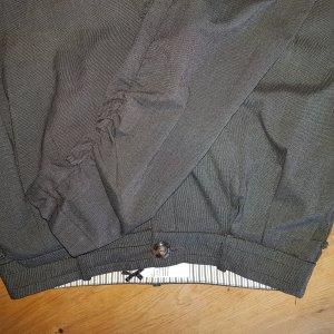 Dept Pantalone boyfriend nero-grigio chiaro Cotone