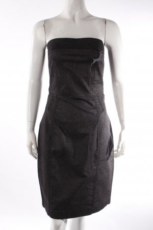 Dept Denim Bustierkleid dunkelblau
