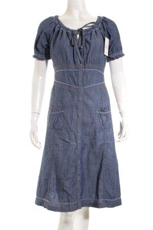 Dept Jeanskleid dunkelblau klassischer Stil