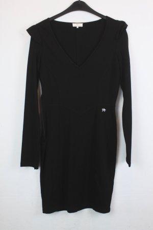 Dept Kleid  Gr. S schwarz mit V-Ausschnitt (18/5/300/K)
