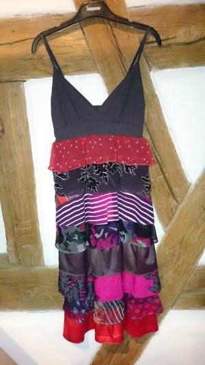Dept Kleid, Materialmix, teilweise Seide! NEU Größe XS