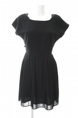 Dept Kurzarmkleid schwarz Elegant