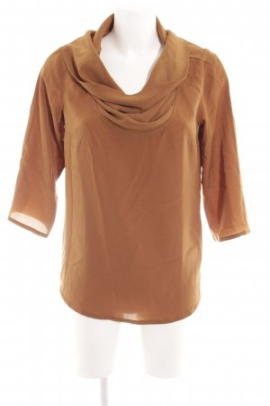 Dept Langarm-Bluse camel Casual-Look