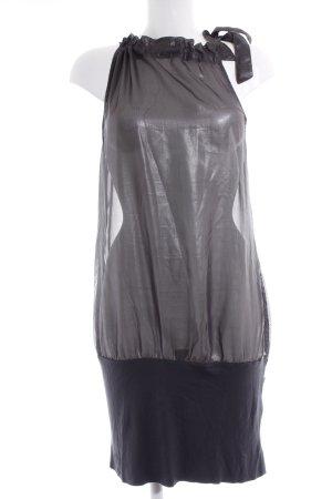 Dept Minikleid silberfarben-anthrazit Party-Look