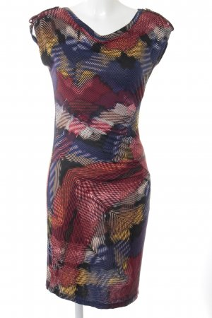 Dept Tube Dress abstract pattern street-fashion look